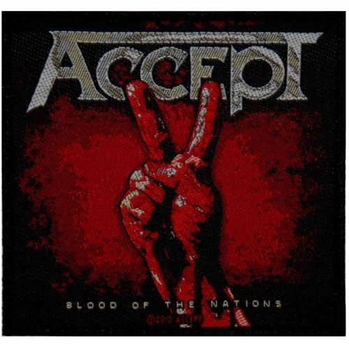 ACCEPT Blood Of The Nations Woven Patch