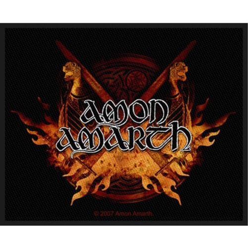 AMON AMARTH Viking Horde Woven Patch
