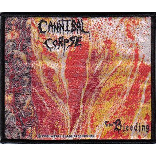 CANNIBAL CORPSE The Bleeding 2001 Woven Patch