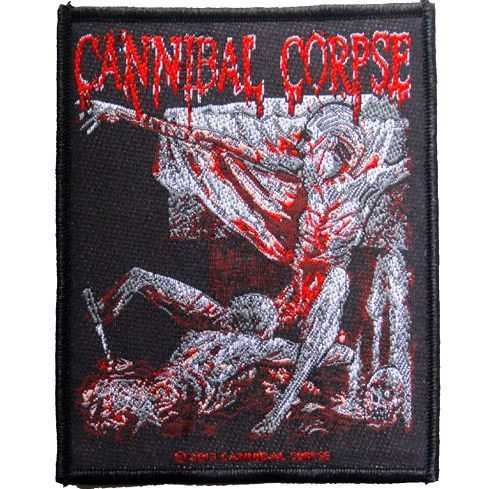 CANNIBAL CORPSE Tomb of the Mutilated Woven Patch