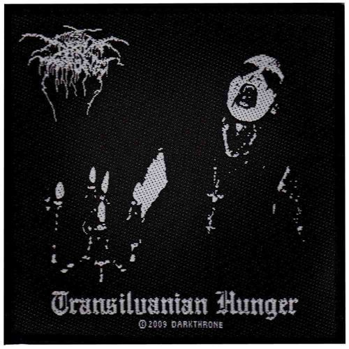 DARKTHRONE Transylvanian Hunger Woven Patch