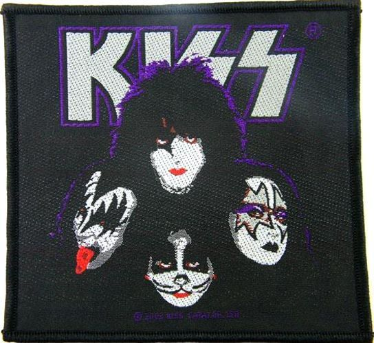 KISS Group Heads Woven Patch