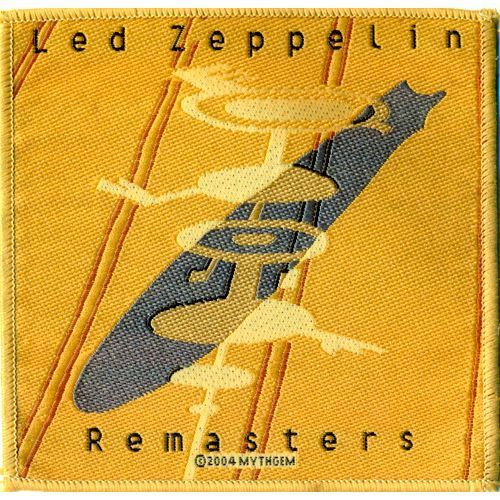 LED ZEPPELIN Remasters Woven Patch