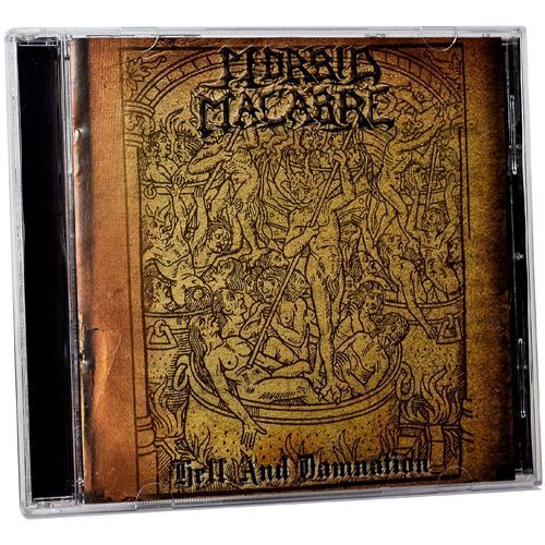 MORBID MACABRE Hell and Damnation CD