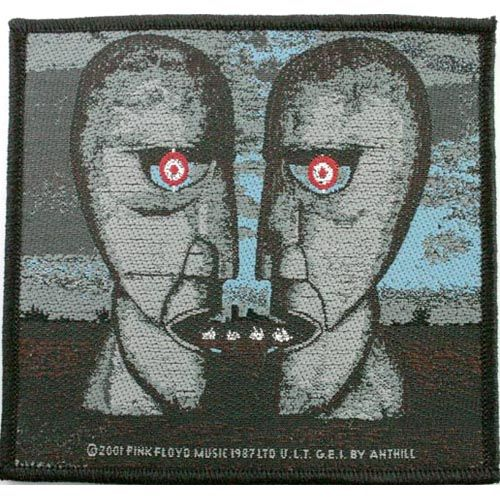 PINK FLOYD The Division Bell Woven Patch