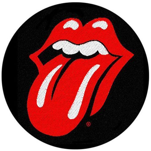 ROLLING STONES Tongue Woven Patch