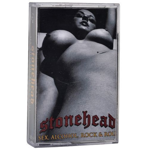STONEHEAD Sex, Alcohol, Rock & Roll Demo Tape
