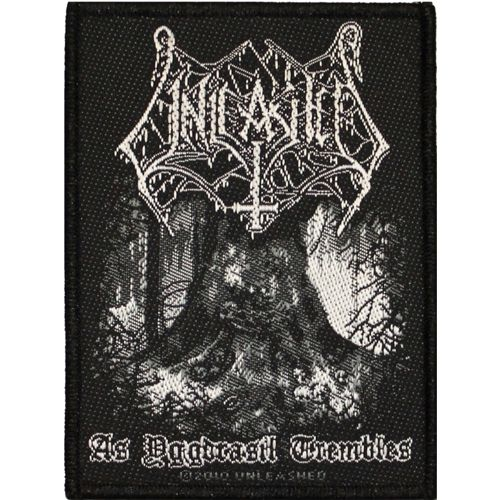 UNLEASHED As Yggdrasil Trembles Woven Patch