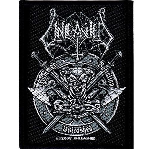UNLEASHED Hammer Battalion Woven Patch