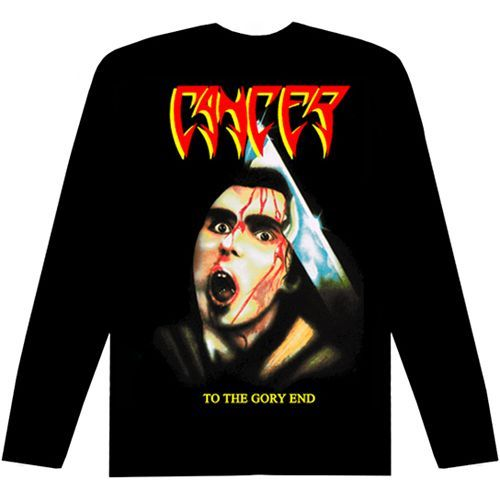 CANCER To The Gory End Long Sleeve