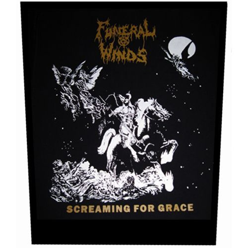 FUNERAL WINDS Screaming for Grace Back Patch
