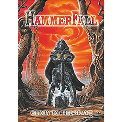 HAMMERFALL Glory to the Brave Poster Flag