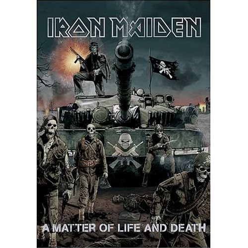 IRON MAIDEN A Matter of Life And Death Poster Flag