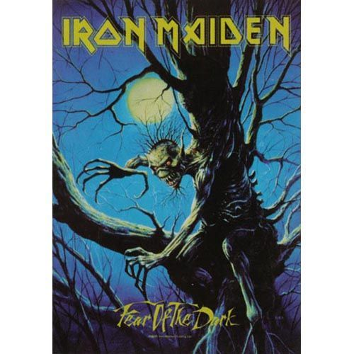 IRON MAIDEN Fear Of The Dark Poster Flag