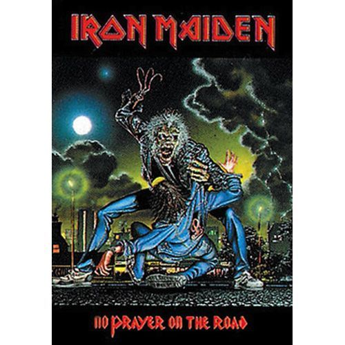 IRON MAIDEN No Prayer on the Road Poster Flag