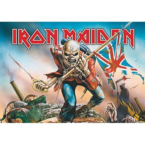 IRON MAIDEN The Trooper Poster Flag