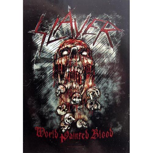 SLAYER World Painted Blood Poster Flag