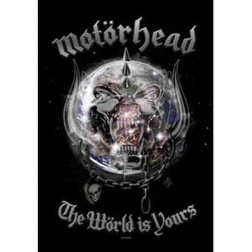 MOTORHEAD The World is Your Poster Flag