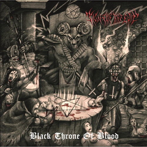 SIGNS OF THE EVIL Black Throne of Blood CD