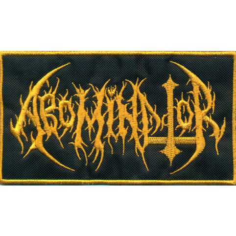 ABOMINATOR Logo Embroidered Patch