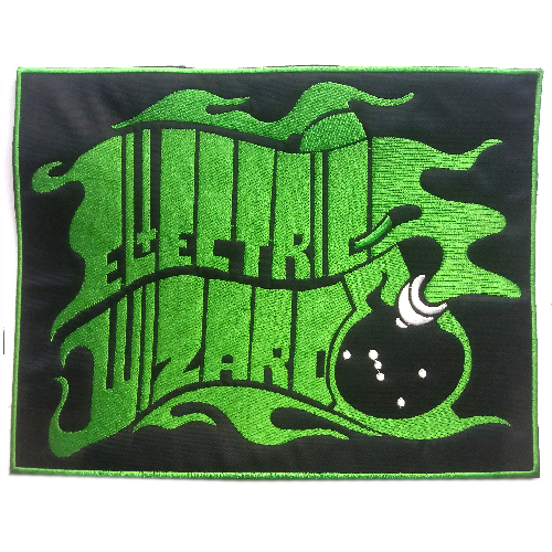 ELECTRIC WIZARD Back Patch embroidered