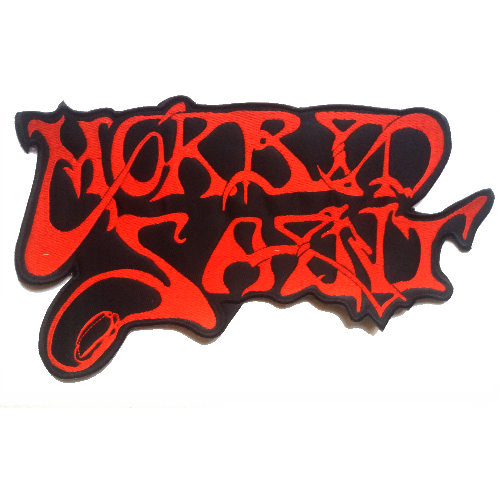 MORBID SAINT Shaped Back Patch embroidered