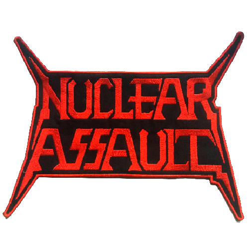 NUCLEAR ASSAULT Shaped Back Patch
