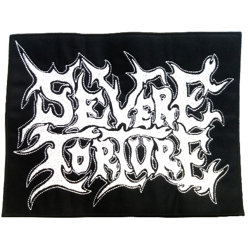SEVERE TORTURE Back Patch embroidered