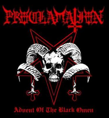 PROCLAMATION Advent of the Black Omen CD