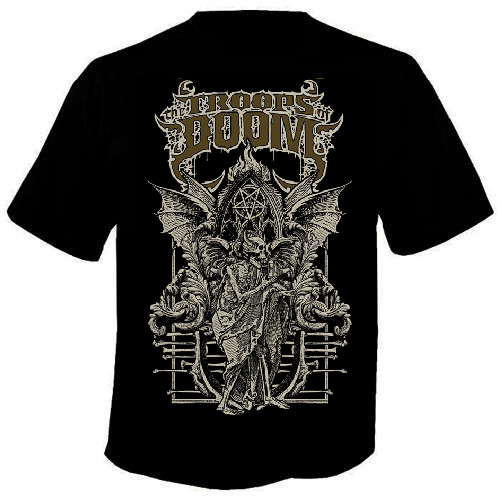 THE TROOPS OF DOOM The Rise of Heresy T Shirt
